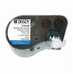 Brady™ BMP™50 Series Printable Repositionable Vinyl Cloth Labels