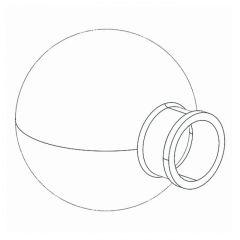 BUCHI Accessory for Rotavapor - Evaporating Flask, D150