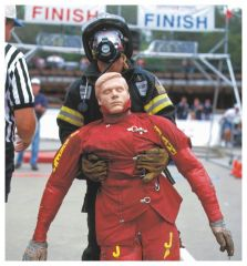 Simulaids™ Rescue Randy Combat Challenge and I.A.F.F. Manikins