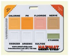 Safety Solutions™ HazMat Smart-Strip™ Chemical Agent Identifying Badge