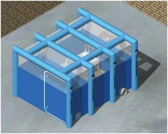 TVI Corporation Indoor Inflatable Negative Pressure Isolation System
