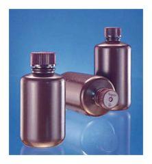 Fisherbrand™ Amber HDPE Narrow-Mouth Bottles