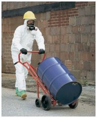 DuPont™ TYCHEM™ 4000 Coverall with Standard Fit Hood, Attached Socks