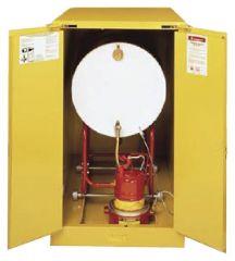 Justrite™ Sure-Grip Drum Safety Cabinet