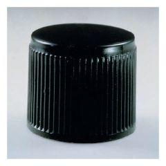 Corning™ Black Phenolic Threaded Screw Caps with PTFE Liners