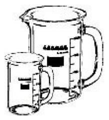 DWK Life Sciences Kimble™ Kontes™ Case of 6 LABMUG™ Drinking Glasses
