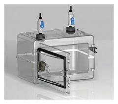 Bel-Art™ SP Scienceware™ Secador™ Mini Desiccator Cabinet with Gas Ports