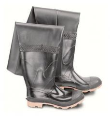 Dunlop™ Onguard™ Men's Steel Toe Storm King/Hip Wader Boots with Cleated Outsole