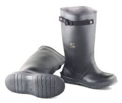 Dunlop™ Onguard™ Men's Slicker Overboots with Self-Cleaning Cleated Outsole