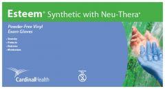 Cardinal Health™ Esteem™ Synthetic Powder-Free Stretchy Vinyl Exam Gloves with Neu-Thera™