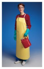 Ansell™ Hycar™ Yellow Nitrile/PVC Blend Aprons