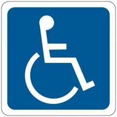 Brady™ Image of Wheelchair Signs