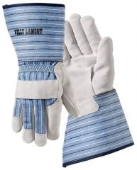 Wells Lamont™ White Mule™ Cotton-Backed Leather Gloves
