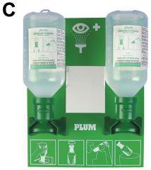 Bel-Art™ SP Scienceware™ PLUM™ Emergency Open Eye Wash Stations