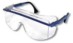 Honeywell Safety Products™ Uvex™ Astro OTG 3001™ Safety Glasses, Blue frames; Clear ultradura hardcoat lens