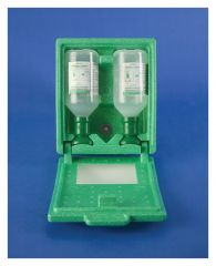 Bel-Art™ SP Scienceware™ PLUM™ Emergency Covered Eye Wash Station