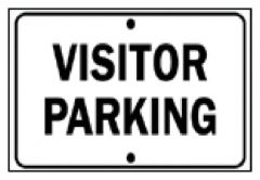 Brady™ Industrial Traffic Signs: Visitor Parking