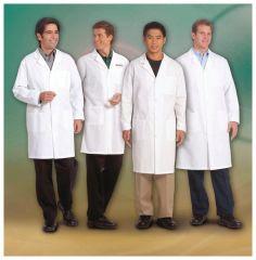 Superior Uniform Worklon Men Cotton Lab Coats