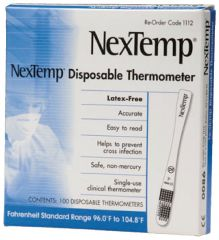 Moore Medical NexTemp™ Single-Use Thermometer