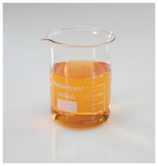 Fisherbrand™ Reusable Glass Low-Form Griffin Beakers, Capacity: 400mL; Graduated 50 to 325mL in 25mL increments