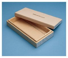 Fisherbrand™ Wooden Box for Microscope Slides