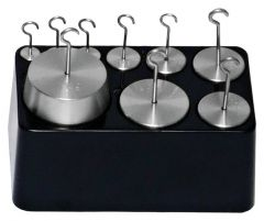 Troemner™ Hooked Stainless-Steel Weight Sets and Individual Weights