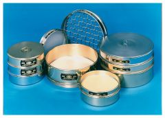 Fisherbrand™ U.S. Standard Stainless Steel Sieves, 8 in. dia. × 2 in.D, Nominal opening 5.6mm; US Std. No. 3-1/2; Tyler No. 3-1/2