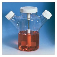 DWK Life Sciences Wheaton™ Celstir™ Spinner Double Side Arm Flasks without Water Jacket