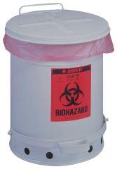 Justrite™ Biohazard Waste Can