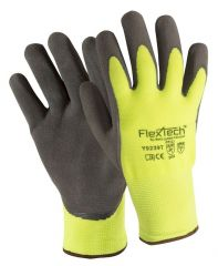 Wells Lamont™ FlexTech™ Hi-Vis Synthetic Knit Palm Coated Glove