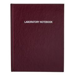 Thermo Scientific™ Nalgene™ Lab Notebooks with Regular Paper Pages, letter size, burgundy