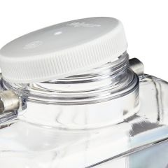 Thermo Scientific™ Nalgene™ Rectangular Polycarbonate Clearboy™ with Spigot, 9L, 2.0 gal. (9L); With spigot