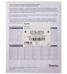 Thermo Scientific™ Nalgene™ Polyolefin Pressure-Sensitive Labels, 22mm