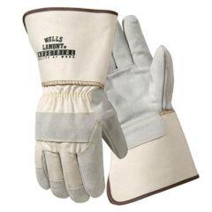 Wells Lamont™ DuPont™ Aramid Fiber Sewn Leather Palm Industrial Gloves
