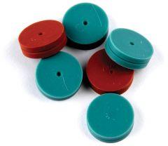 Thermo Scientific™ Septa, BTO, 17mm, Glass Jar