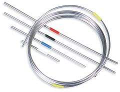 Thermo Scientific™ 316 Stainless Steel Capillary Tubing for HPLC, 0.010 in. I.D., 10cm length, blue