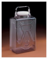 Thermo Scientific™ Nalgene™ Rectangular Polycarbonate Clearboy™ with Closure, 9L