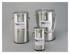 Thermo Scientific™ Thermo-Flask™ Benchtop Liquid Nitrogen Containers, 2L, 2L capacity; With lid, handles