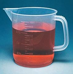 Fisherbrand™ Low-Form Polypropylene Beakers with Handles