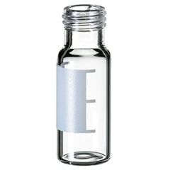 La-Pha-Pack™ 9mm Short Thread Glass Vial, Wide Opening, Clear, 1.5mL,