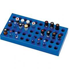 La-Pha-Pack™ Polypropylene Racks for Autosampler Vials, 50 Positions, 200 x 105 x 17mm (L x W x H)