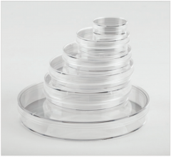 Fisherbrand™ Surface Treated Tissue Culture Dishes, 60mm, w/ Gripping Ring