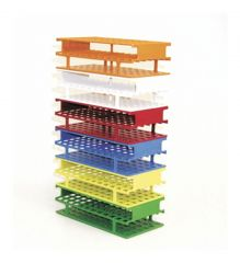 Thermo Scientific™ Nalgene™ Unwire™ Test Tube Racks: Resmer™ Manufacturing Technology, for 16mm tubes, red