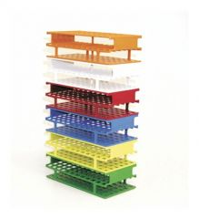 Thermo Scientific™ Nalgene™ Unwire™ Test Tube Racks: Resmer™ Manufacturing Technology, for 20mm tubes, red