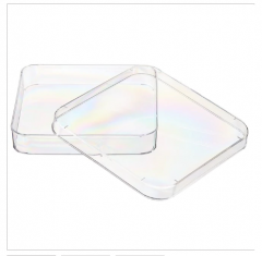 Nunc™ Lab-Tek™ Petri Dishes, Sterile Square Vented, 500/Case
