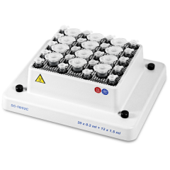 SC-18/02C, Block for  20x0,2 ml+12x1,5 ml microtube