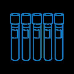 CKG16, calibration kit for DEN-1, for 16mm glass tubes