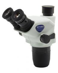 Trinocular stereozoom microscope head
