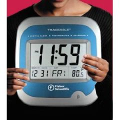 Fisher Scientific™ Traceable™ Clock/Thermometer/Calendar