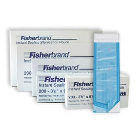 Fisherbrand™ Instant Sealing Sterilization Pouches, 3.5 x 5 in.